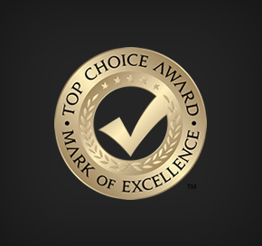 Top Choice Award | Mark of Excellence